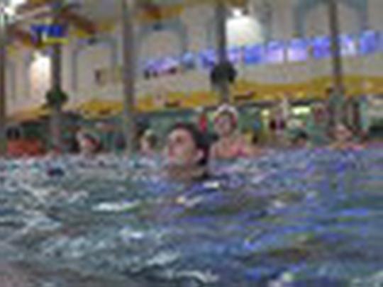 Aqua aerobic se lidem líbí