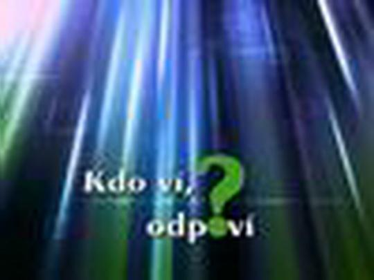 Kdo ví, odpoví (květen 2012)
