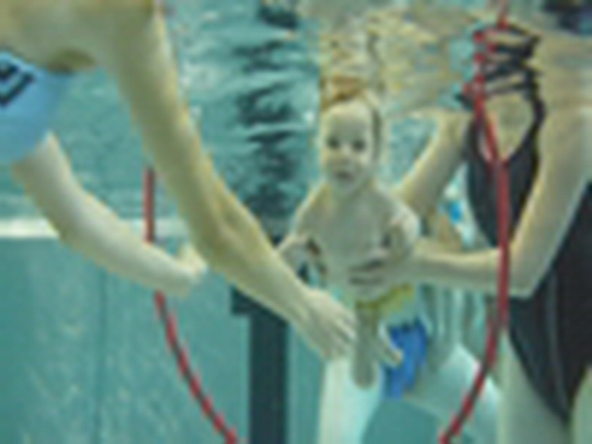 Plavání nejmenších dětí