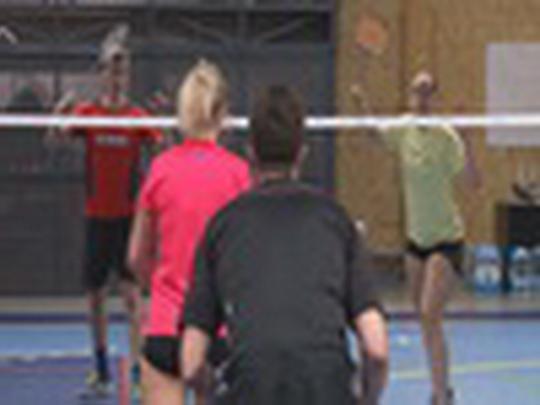 Finále badmintonové ligy 2016/2017