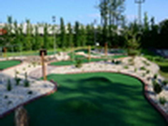Bohumínské sportovní centrum BOSPOR - Adventure Golf