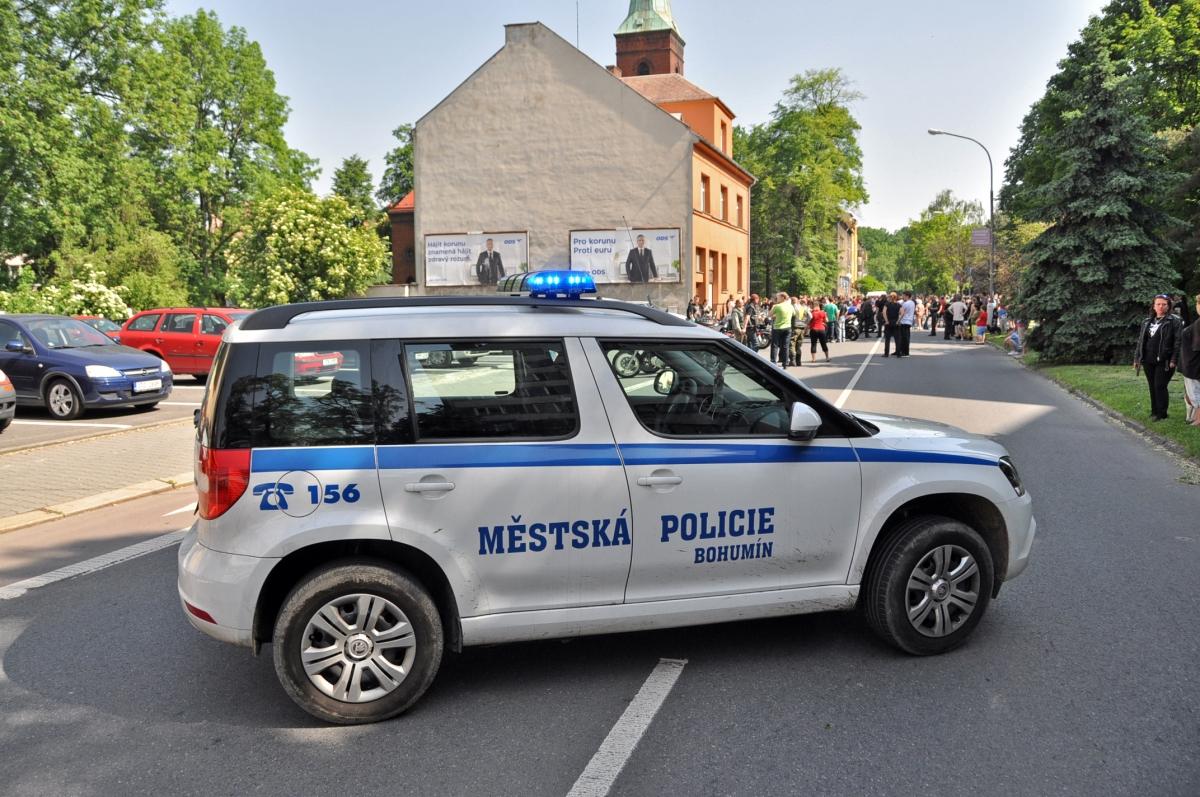 Zpráva o činnosti Městské policie Bohumín v roce 2008