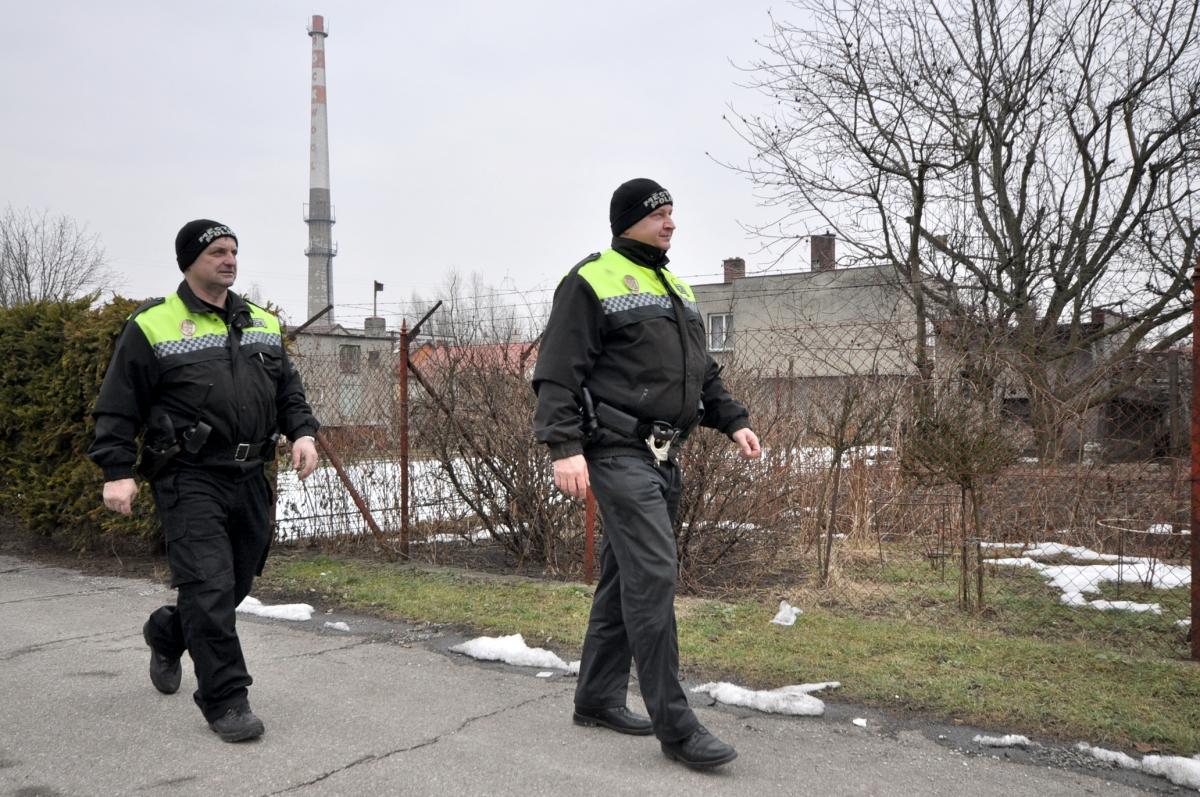 Zpráva o činnosti Městské policie Bohumín v roce 2004
