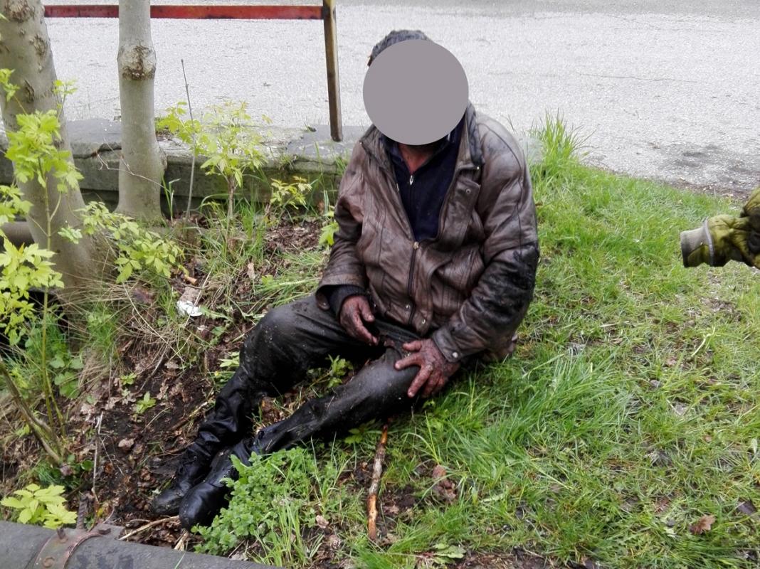 57letý muž uvízl v potoce Bajcůvka