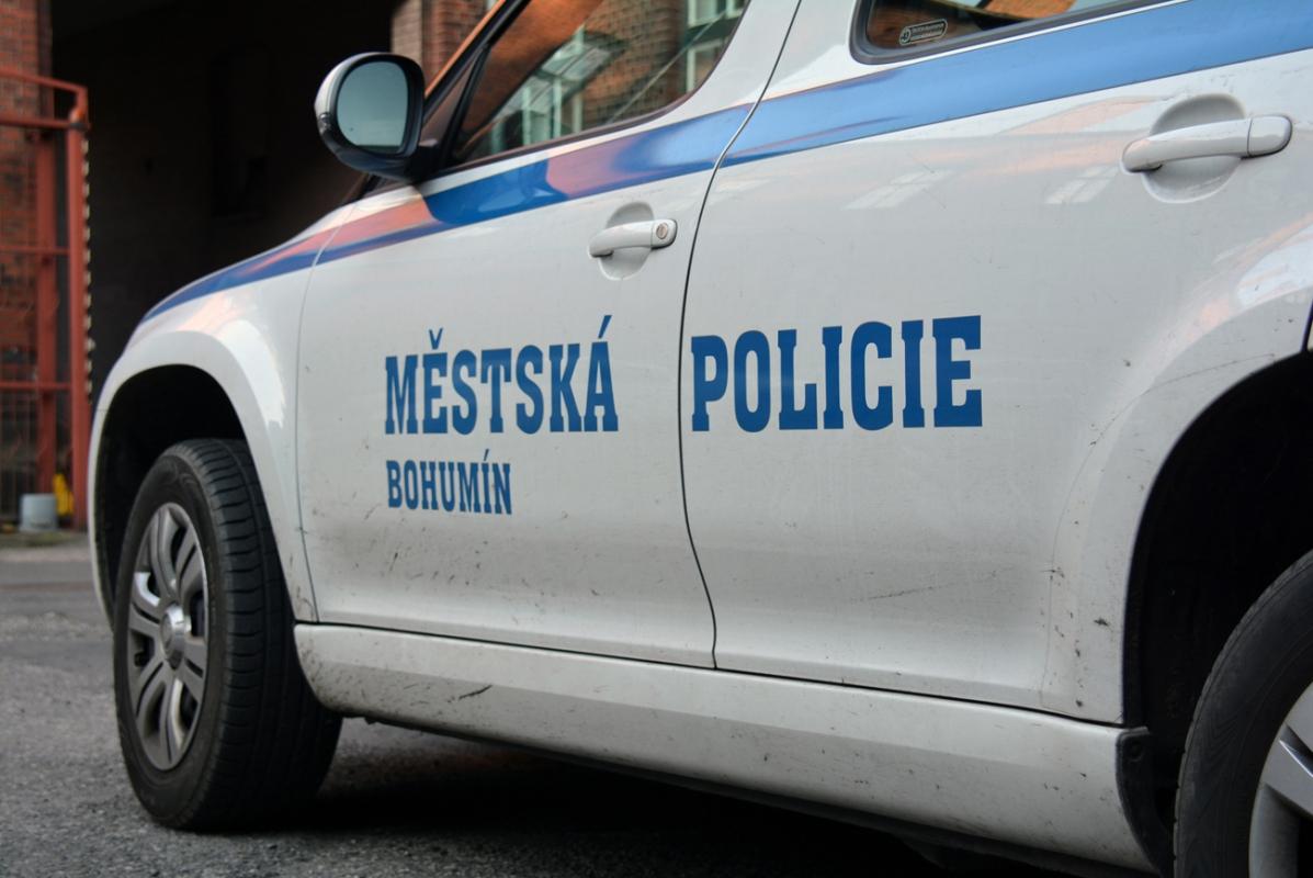 Asistent kriminality a strážníci pomohli napadené ženě