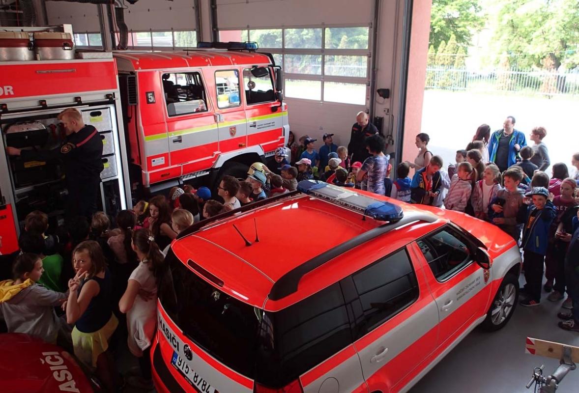 Den požární bezpečnosti otevřel hasičské stanice veřejnosti