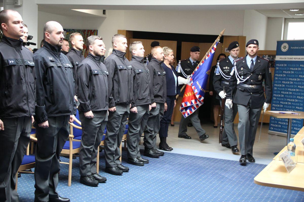 K moravskoslezské policii nastoupilo dalších 22 nováčků