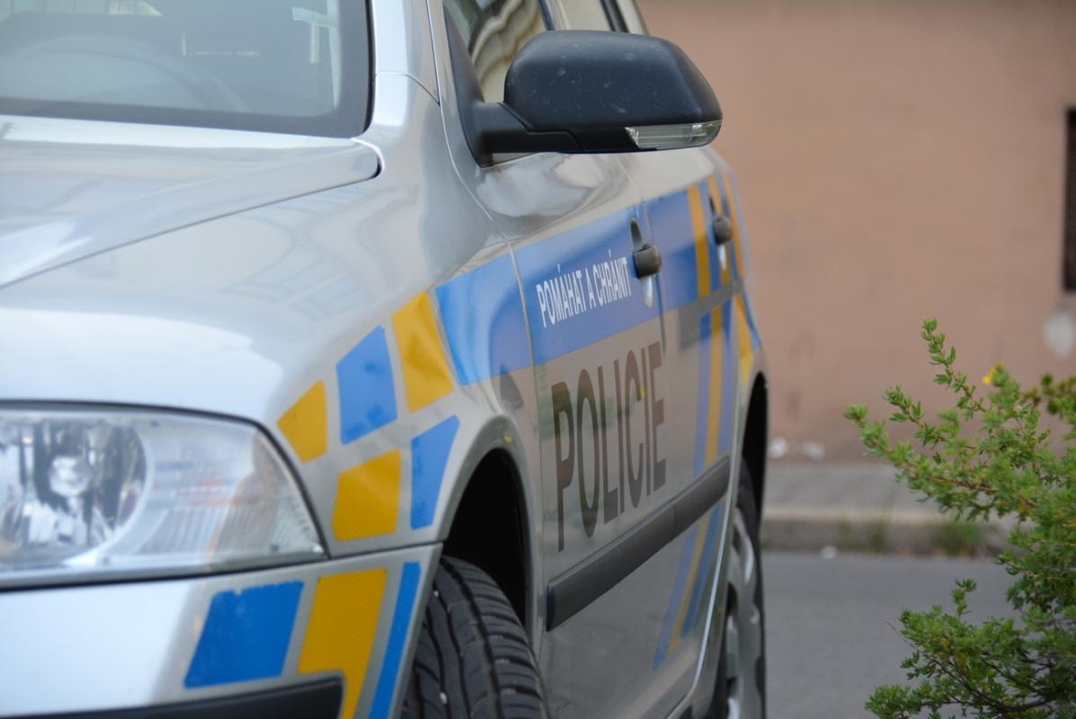 Neznámý vandal železničářům v Bohumíně posprejoval hnací vůz