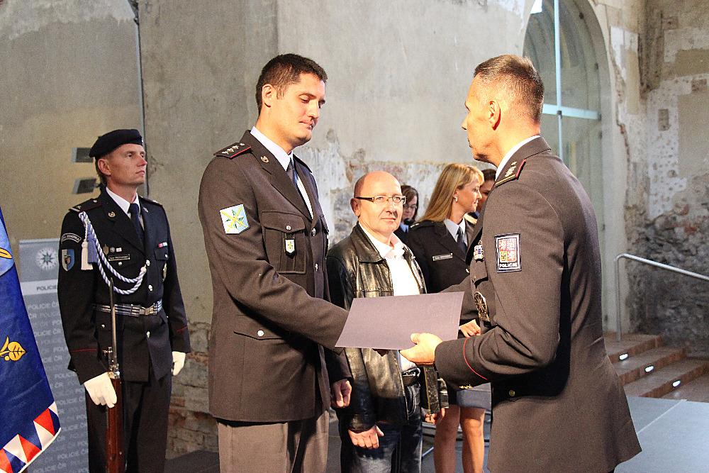 Policejní ředitel veřejně poděkoval zachráncům