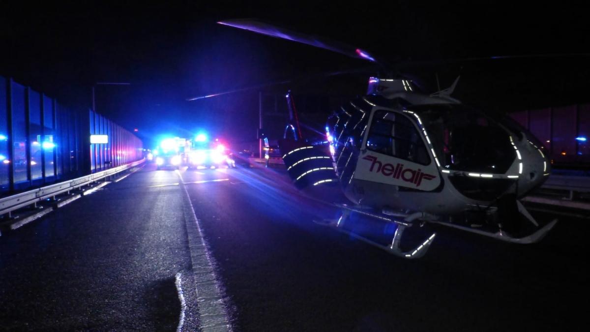 Při nehodě na dálnici u Bohumína se zranilo šest lidí