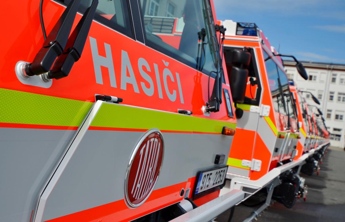 Moravskoslezští hasiči likvidovali na přelomu roku čtyři desítky požárů