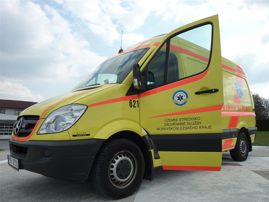Zdravotničtí záchranáři vloni v kraji ošetřili více jak 115 tisíc pacientů