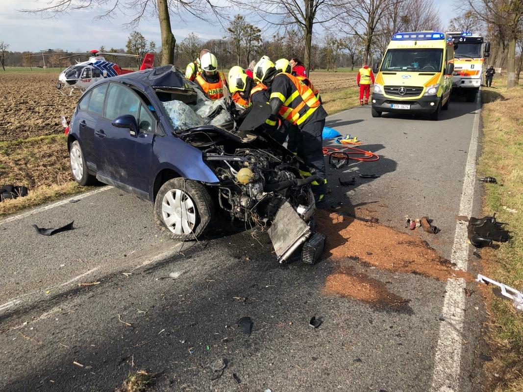 Po nehodě auta v nedalekých Šilheřovicích zemřel jeho řidič