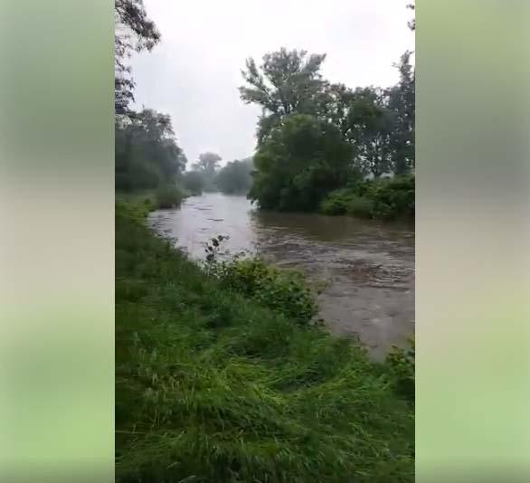 Déšť zvedá hladiny řek, Olše může dosáhnout 1. stupně povodňové aktivity