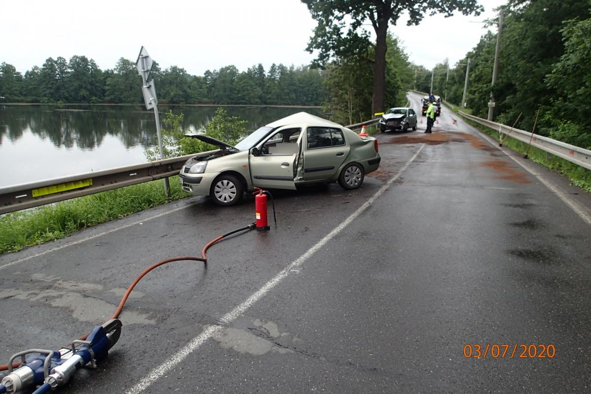 Jeden mrtvý a dva zranění při tragické nehodě v Rychvaldu