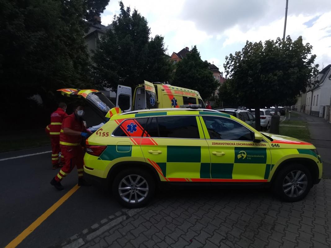 Moravskoslezští záchranáři vyjížděli v sobotu k téměř stovce zraněných
