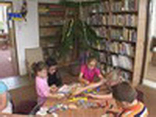 Knihovna a Vánoce naruby