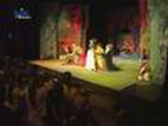 Sněhurka ožila na pódiu kina