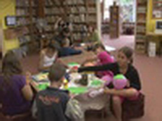 Knihovna děti o prázdninách láká