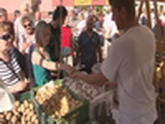 Farmářské trhy v Bohumíně
