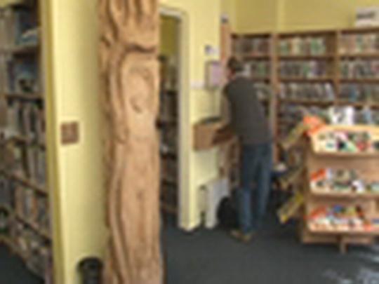 Devadesátiletá knihovna