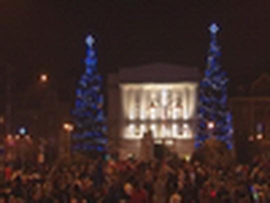 Rozsvícení vánočních stromů