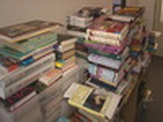 Poškozené knihy mají šanci