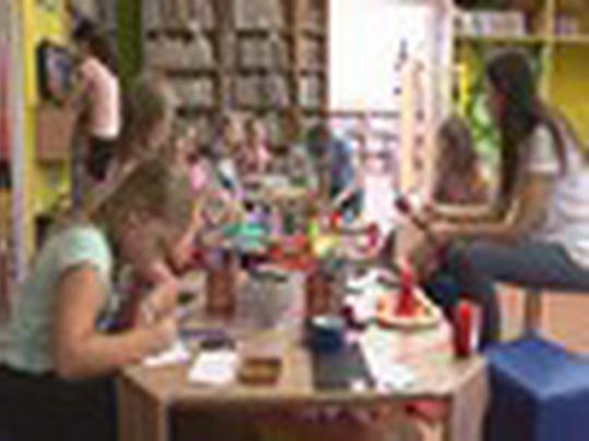 V knihovně letní interaktivní hra Letem světem
