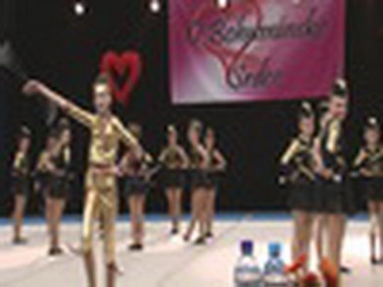 Mažoretky tančily O Bohumínské srdce