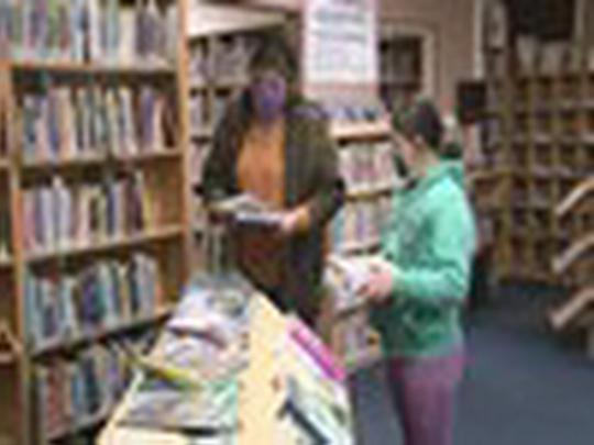 Knihovna po 45 dnech znovu v provozu