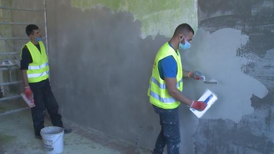 Rekonstrukce knihovny K3 se blíží k polovině