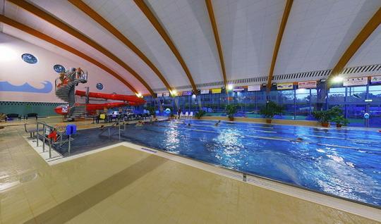Aquacentrum - plavecký bazén - Zobrazit virtuální prohlídku