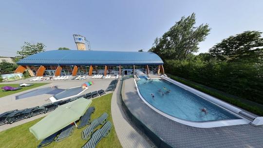 Aquacentrum - průplavový bazén - Zobrazit virtuální prohlídku
