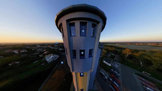 Penzion ve věži (rok 2007) - Zobrazit virtuální prohlídku