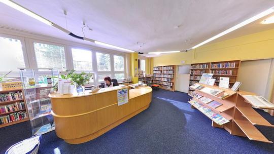 Knihovna K3 v Novém Bohumíně - Zobrazit virtuální prohlídku