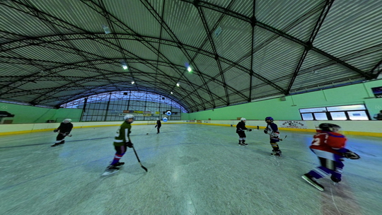 Zimní stadion - ledová plocha - Zobrazit virtuální prohlídku