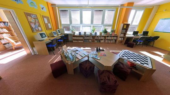 Knihovna K3 v Novém Bohumíně - dětské oddělení - Zobrazit virtuální prohlídku