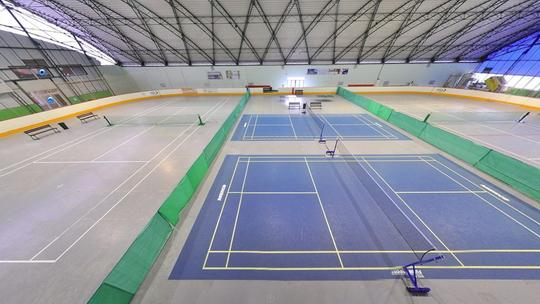 Zimní stadion - letní sporty - Zobrazit virtuální prohlídku