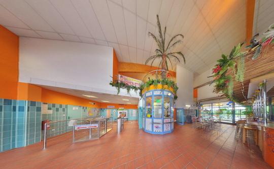 Aquacentrum - vstupní hala - Zobrazit virtuální prohlídku