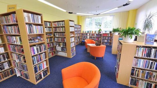 Knihovna K3 - dospělé oddělení - beletrie - Zobrazit virtuální prohlídku