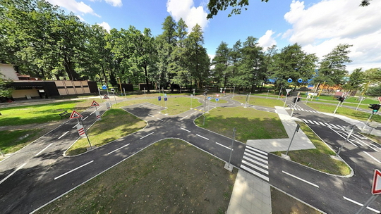 Dětské dopravní hřiště - Zobrazit virtuální prohlídku