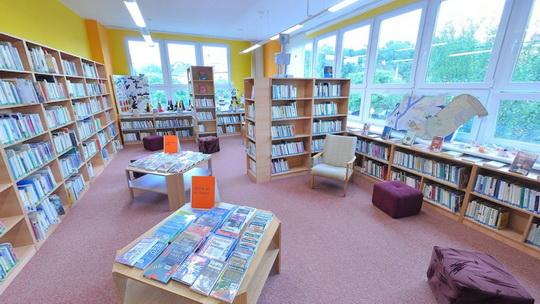 Knihovna K3 - dětské oddělení - knihovna pro děti - Zobrazit virtuální prohlídku