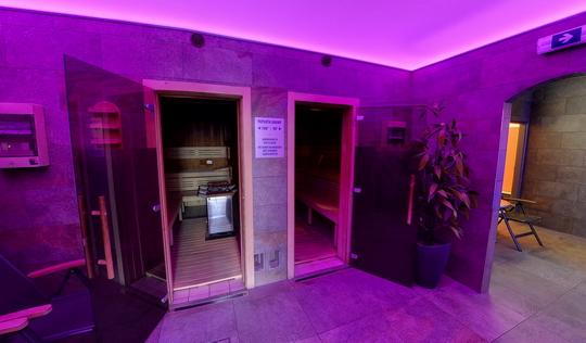 Aquacentrum - saunový svět - finské sauny (rok 2016) - Zobrazit virtuální prohlídku