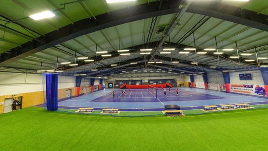 Sportovní hala - Zobrazit virtuální prohlídku