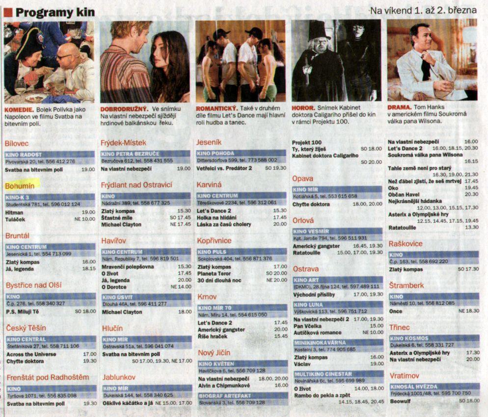 Programy kin - Zvětšit