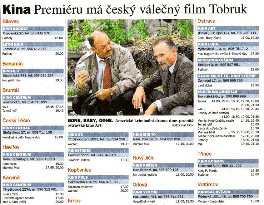 Kina Premiéru má český válečný film Tobruk - Zvětšit